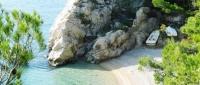 Beaches in Pisak, Croatia